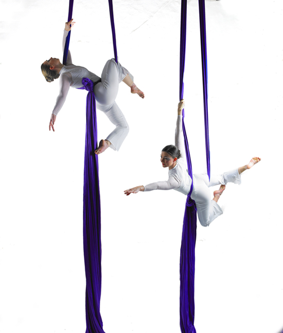 Dancer, fantastic aerial artists, high end events, world class skills
